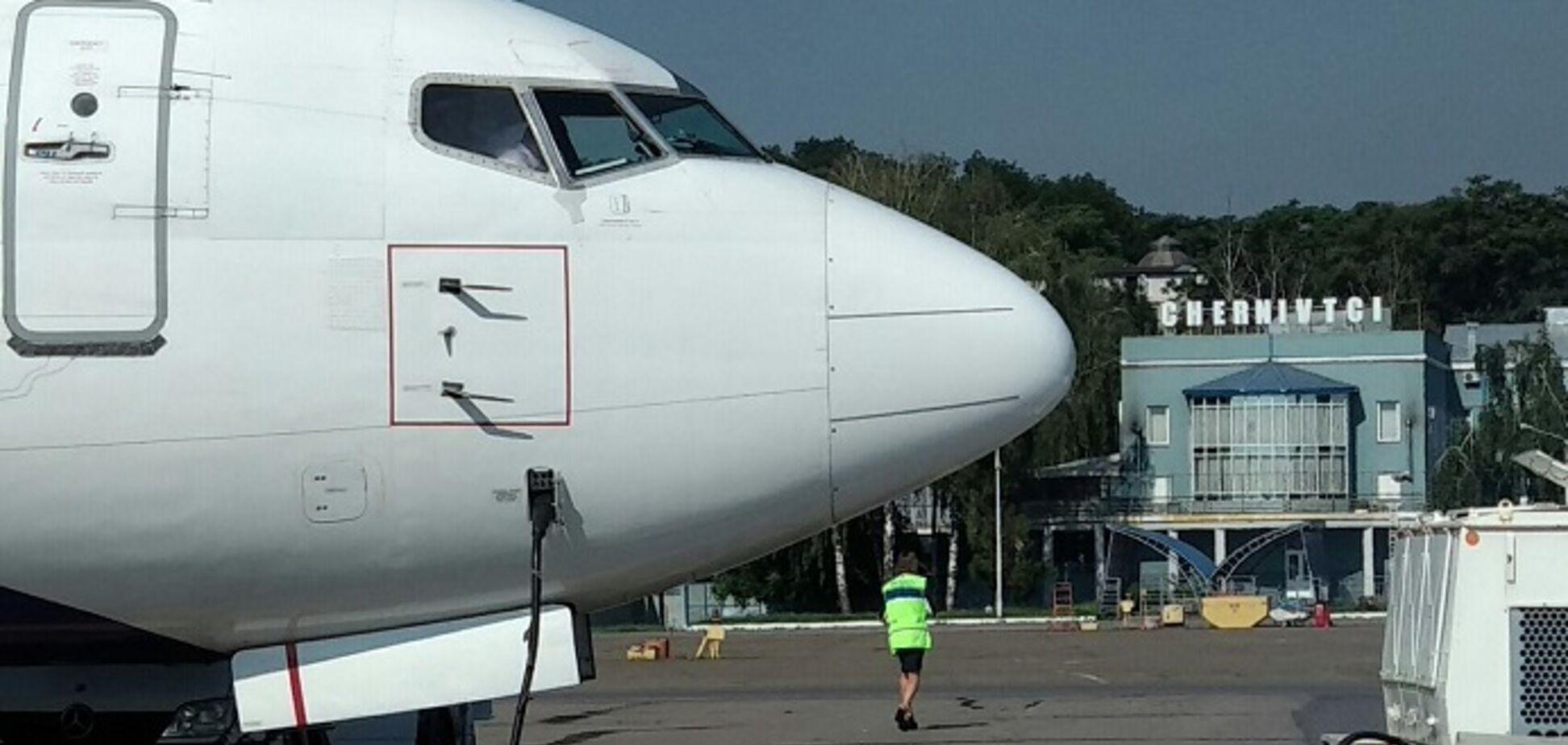 Аеропорт в Чернівцях