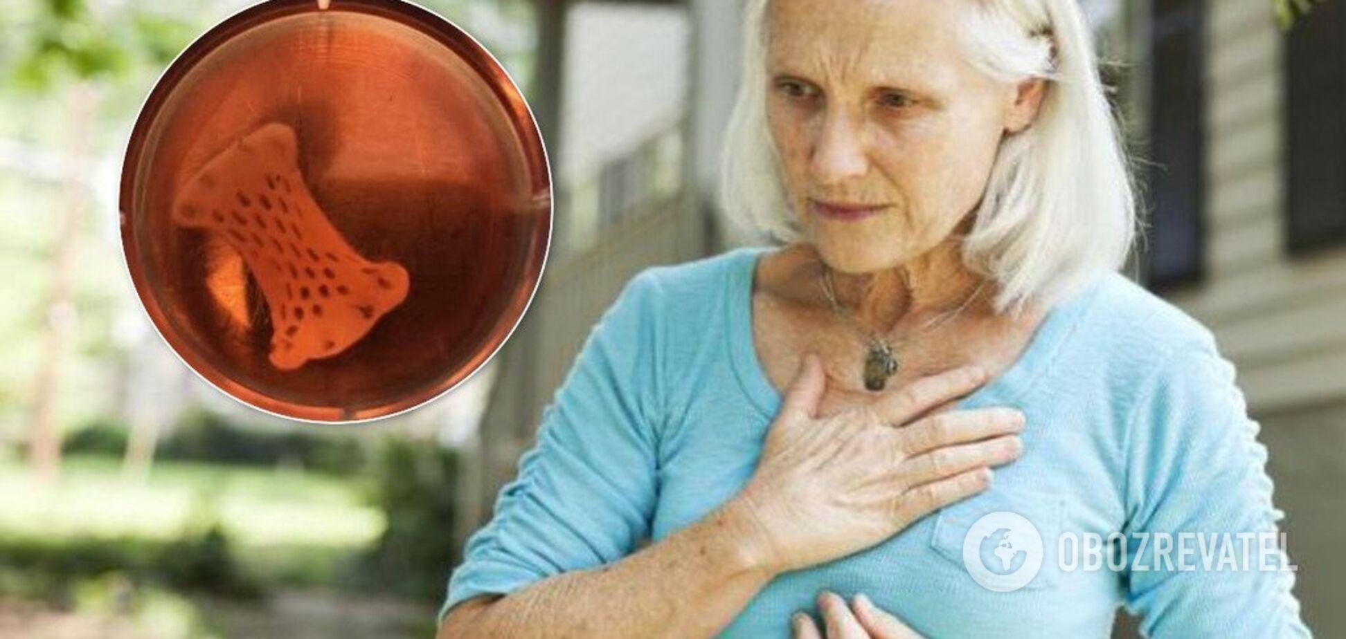 'Живий пластир': учені винайшли засіб для швидкого відновлення серця
