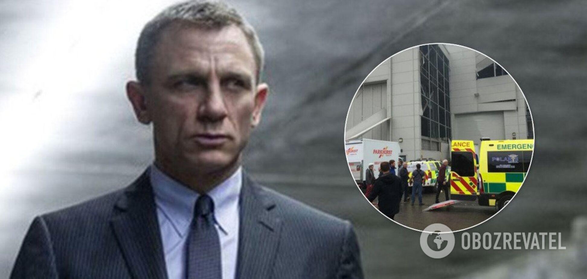 Три потужні вибухи: на зйомках фільму про Бонда сталася серйозна НП