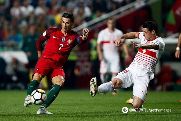 Португалия – Швейцария в отборе ЧМ-2018
