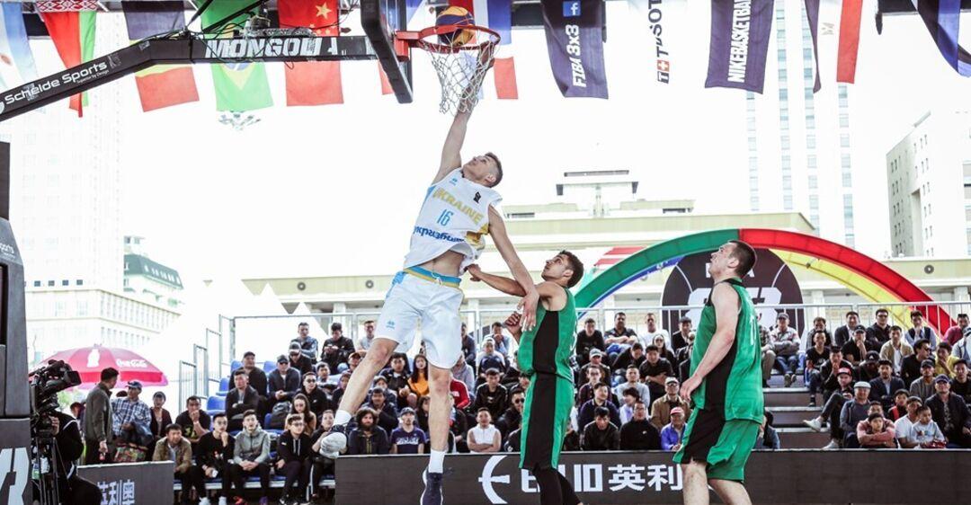 Украина U-18 вышла в четвертьфинал КМ по баскетболу 3х3, превзойдя показатель России
