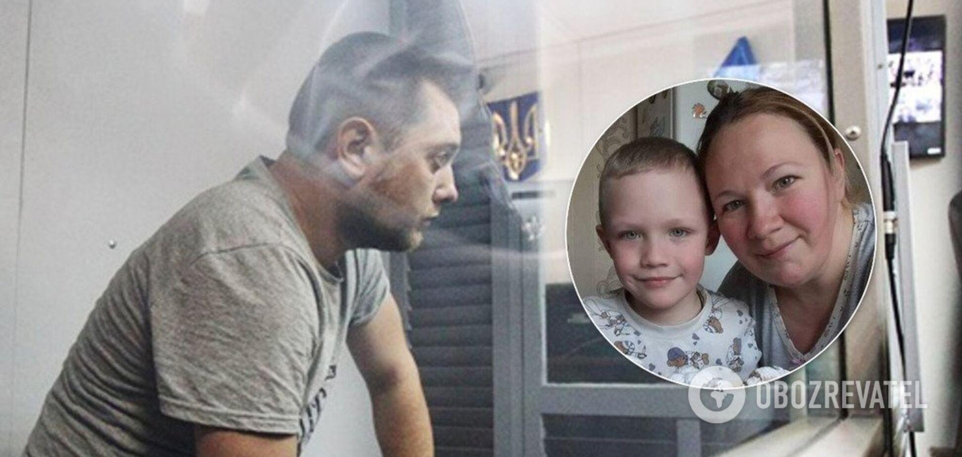Убивство 5-річного хлопчика під Києвом: дружина копа виступила з цинічною заявою