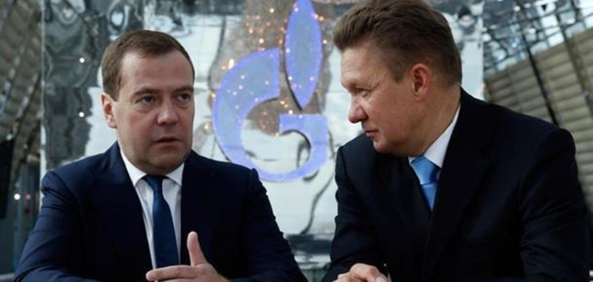 'Медведєв в Газпром': стало відомо про важливі кадрові перестановки в Кремлі