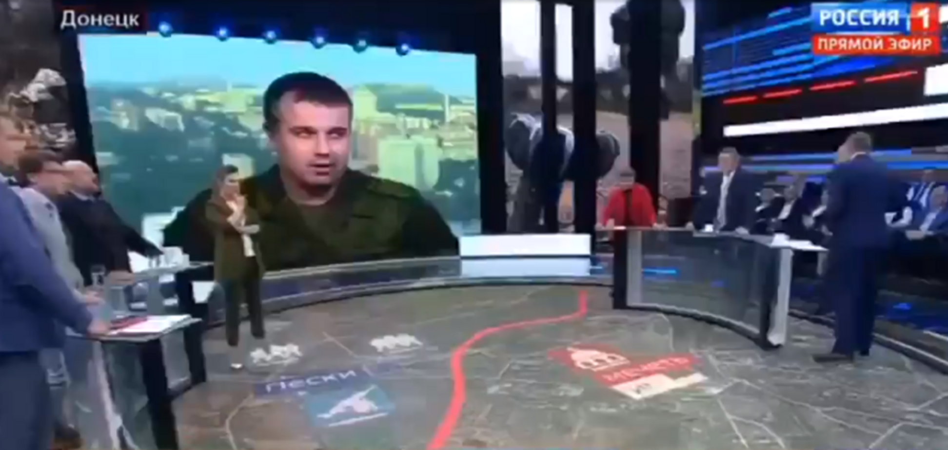 Порєбрік News: одіозний українець влаштував на росТБ демарш у прямому ефірі
