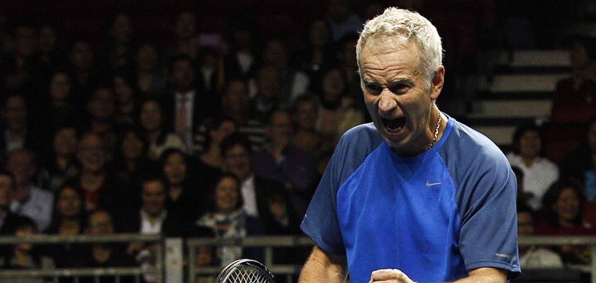 'Заткнись!' Легенда тенниса жестко наехал на украинца