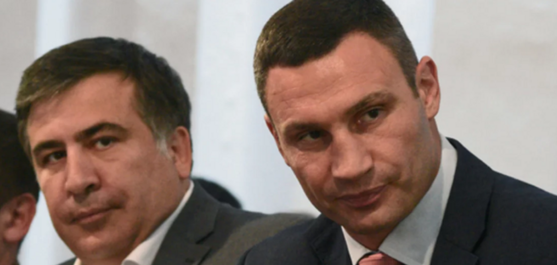 Саакашвілі відмовився очолити партію Кличка: що відомо