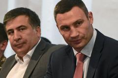 Саакашвили отказался возглавить партию Кличко: что известно