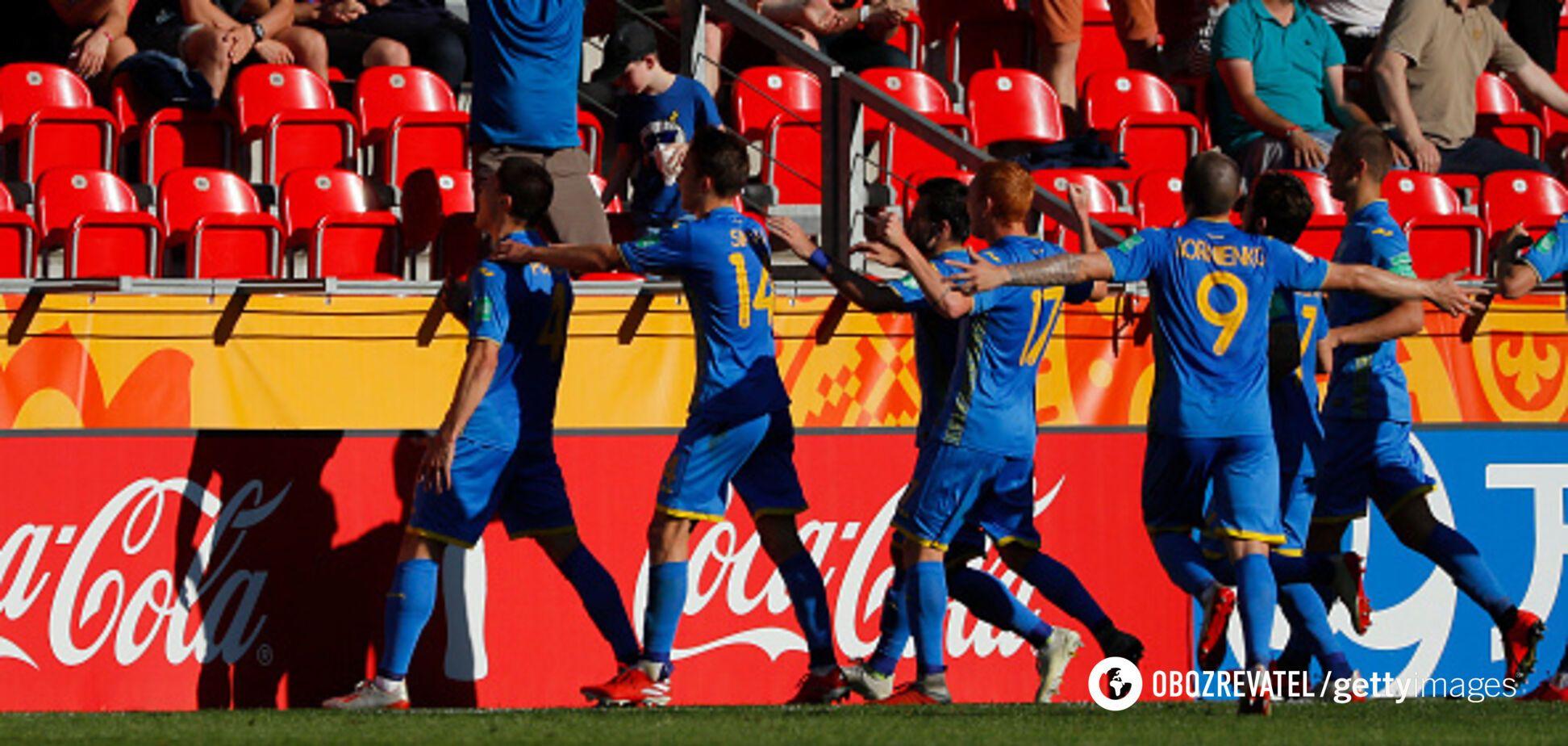 Украина – Колумбия: результат четвертьфинала ЧМ по футболу U-20