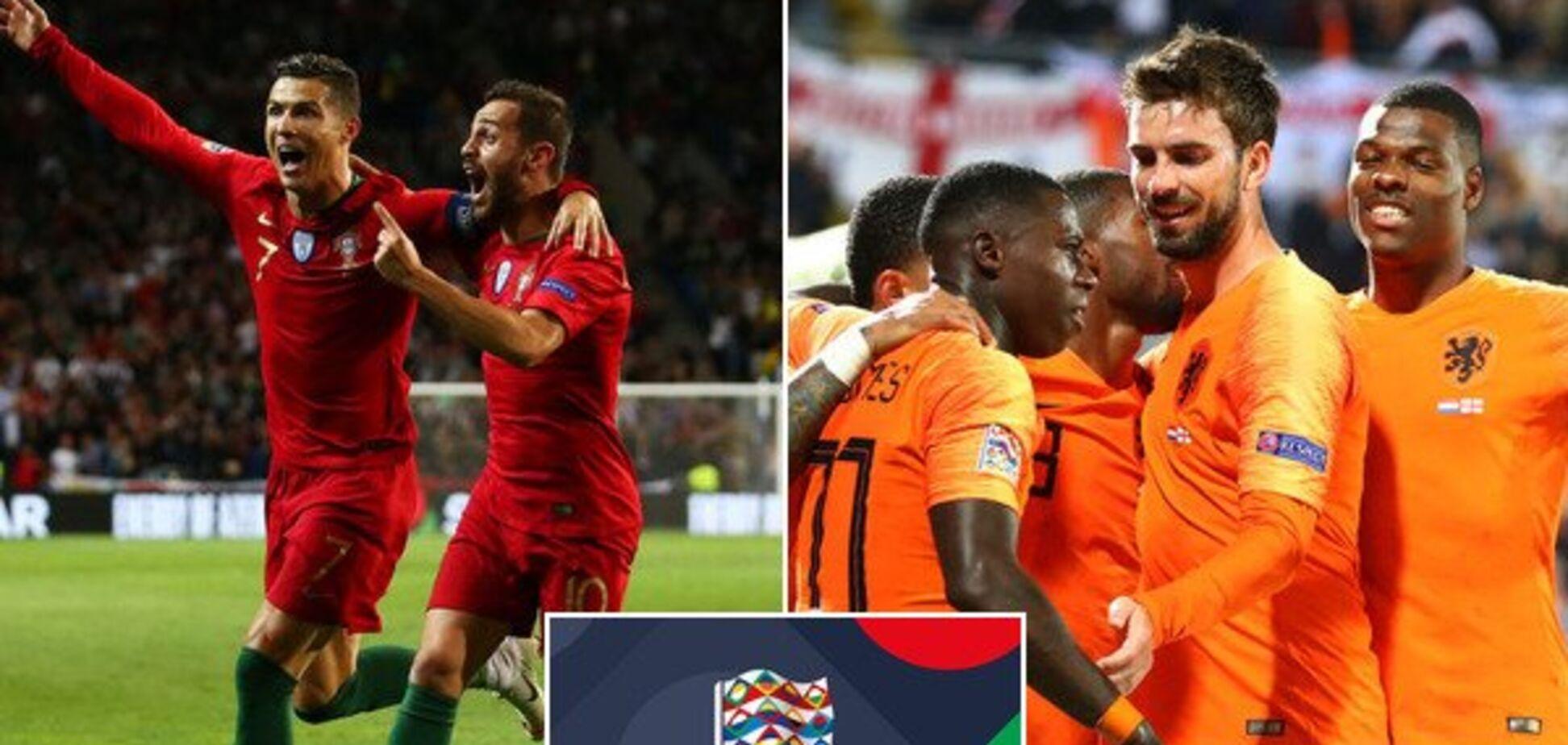 Де дивитися онлайн Португалія – Нідерланди: розклад трансляцій фіналу Ліги націй