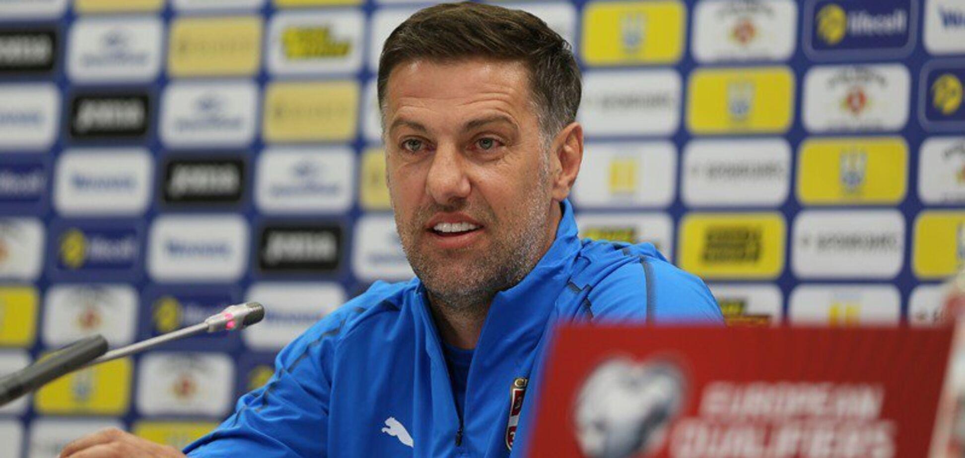 Дурные голы: тренер Сербии отреагировал на фиаско во Львове