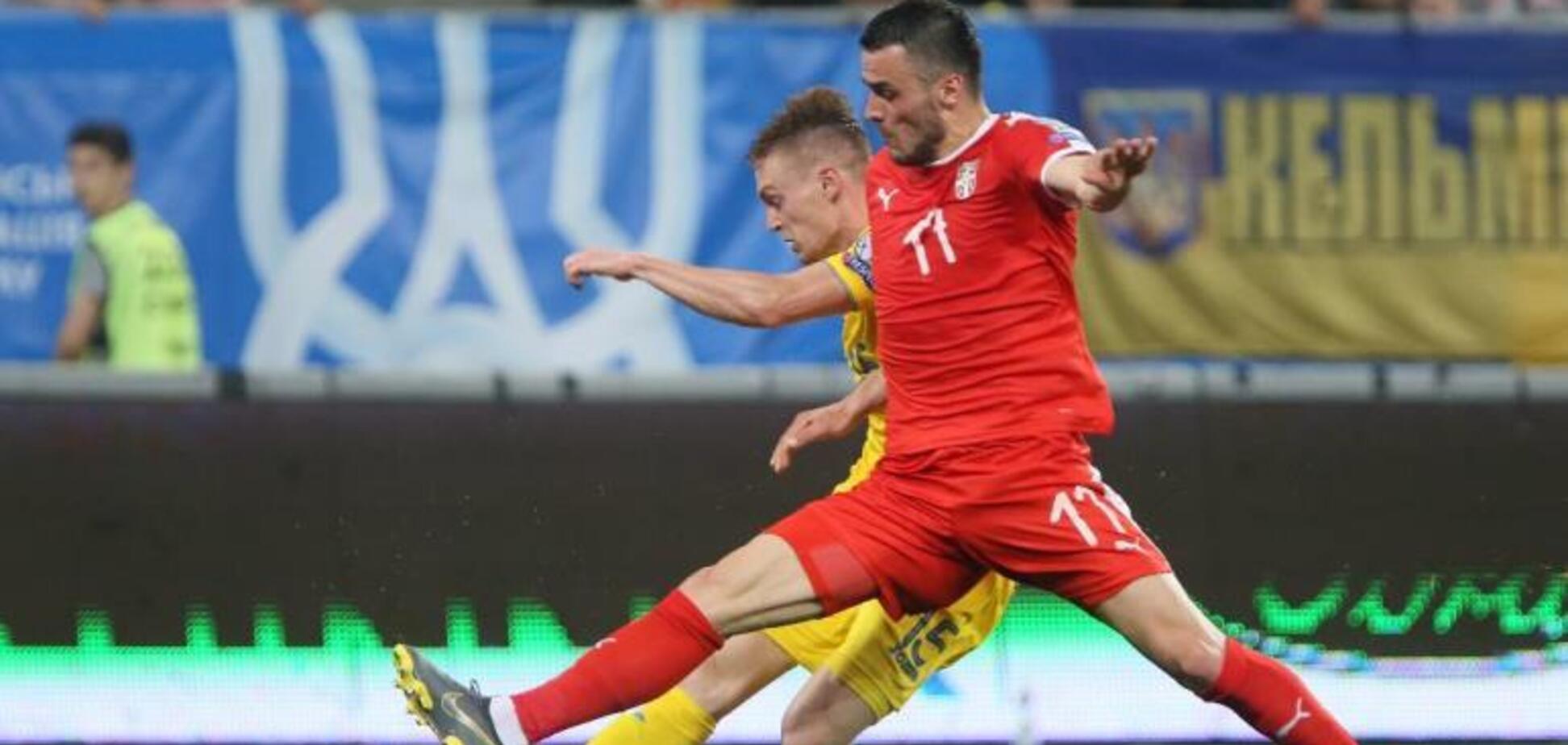 Украина – Сербия: видео-обзор матча отбора Евро-2020