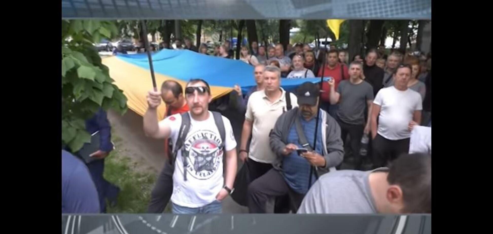 'Нападение' на харьковский офис Украинского еврейского комитета, которого не было