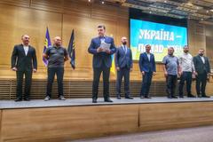 Тягнибок, Ярош і Кошулинський об'єдналися на виборах