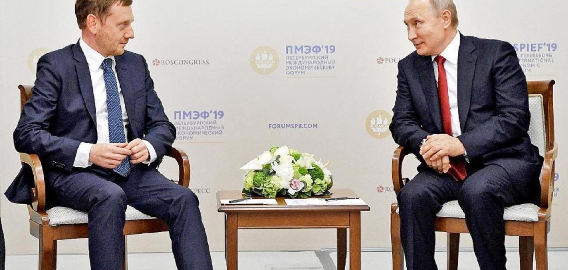 'Прогнувся перед Путіним': у Німеччині закликали скасувати санкції проти Росії