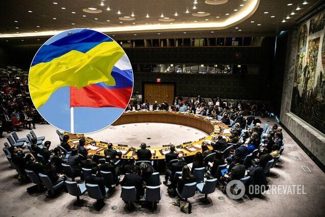 РФ скликала Радбез ООН через Україну