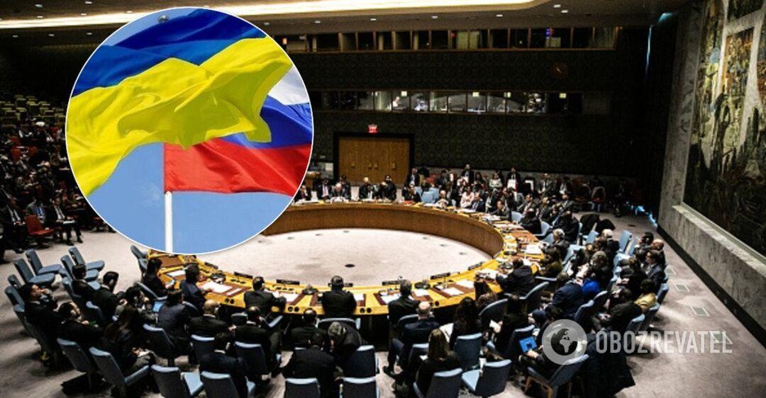 Россия созвала Совбез ООН из-за войны в Украине: все подробности онлай