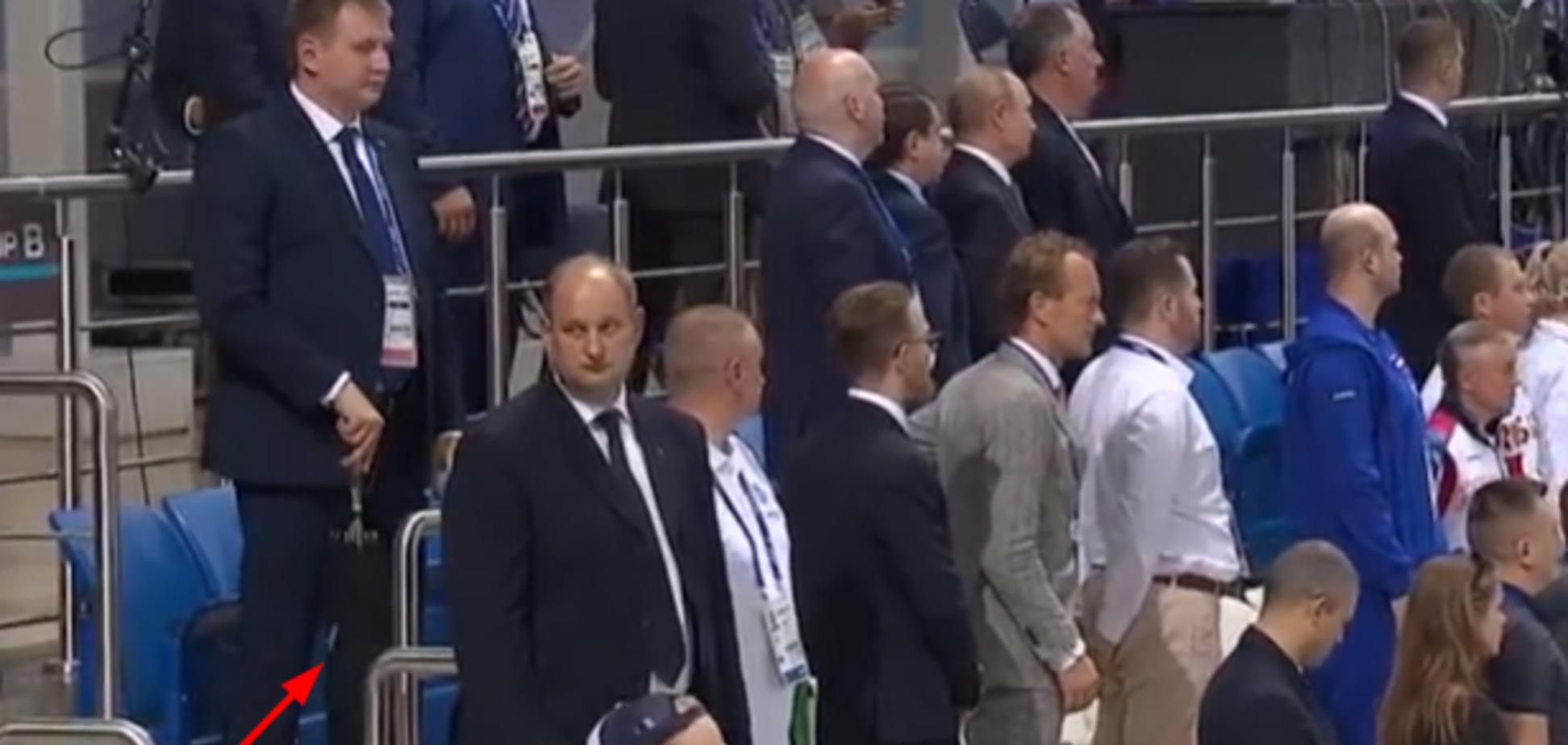 'От г**на закрываться': Путина высмеяли за приезд на Европейские игры