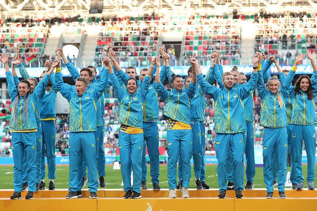 Українська команда з легкої атлетики на ЄІ-2019