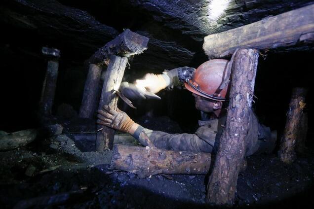 Задымление на шахте