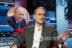 'Росія – не агресор': канал Медведчука перед виборами покаже фільм з Путіним