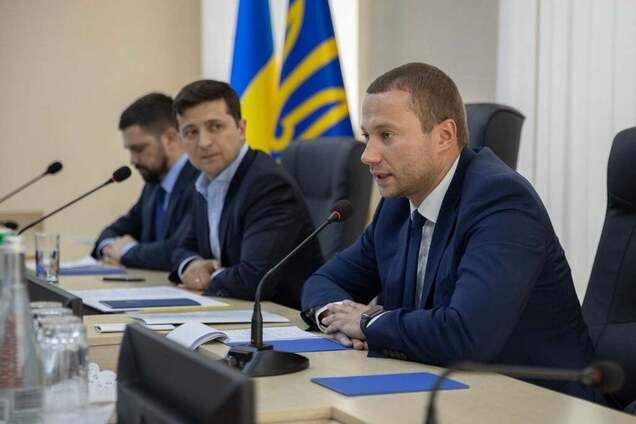 Владимир Зеленский и Павел Кириленко