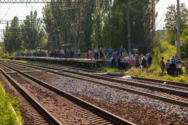 В Днепре поезд насмерть сбил мужчину