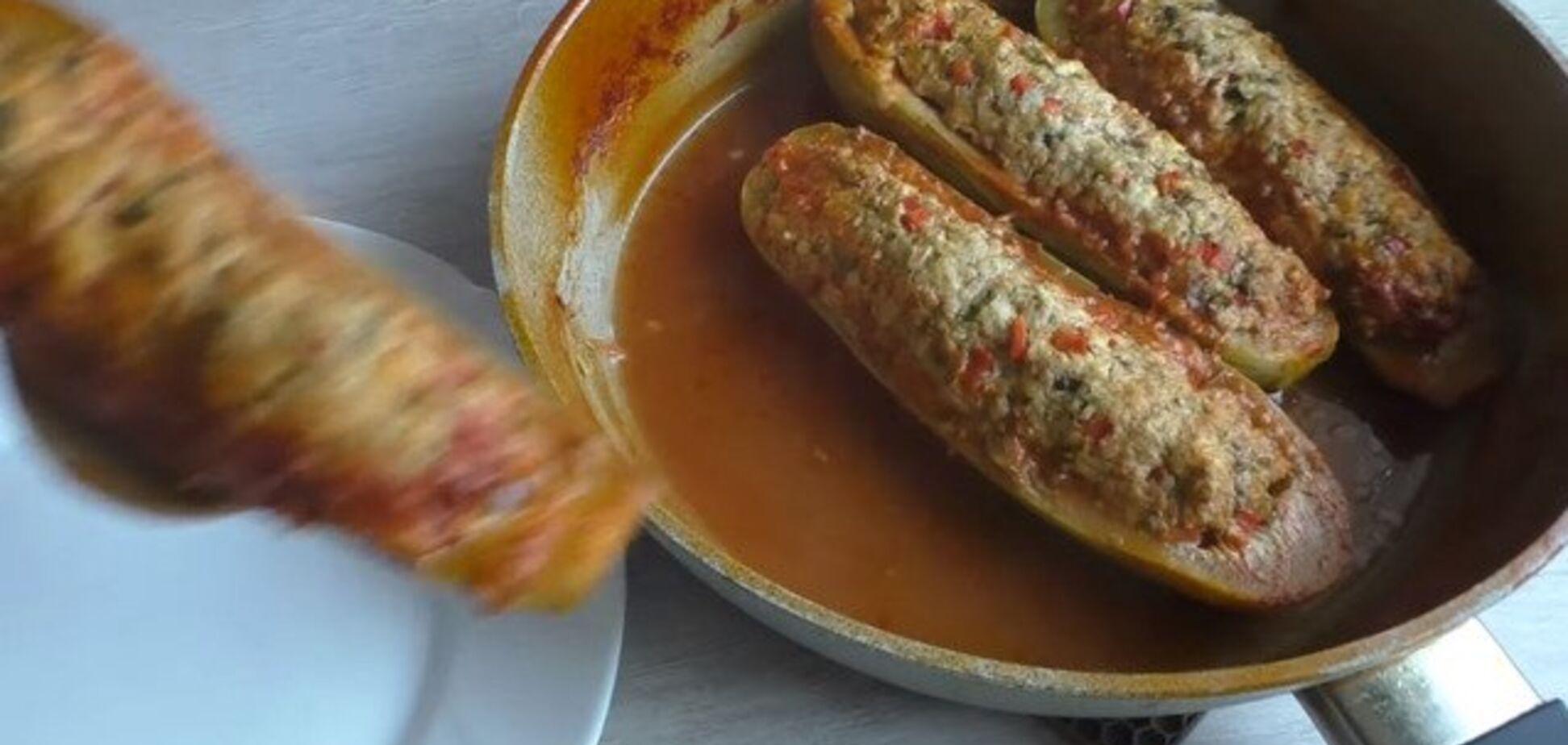 Поцарапайте кабачки для этого рецепта вилкой - будет вкуснее