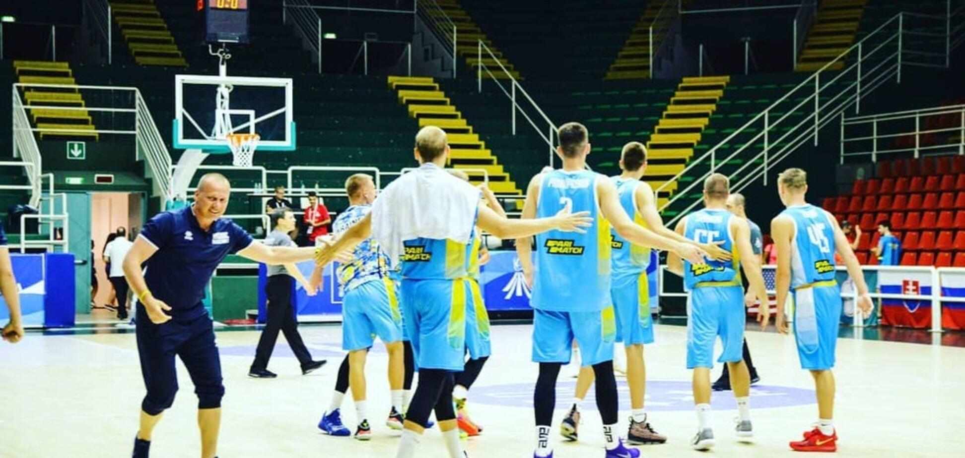 Баскетболисты Украины стали вице-чемпионами Универсиады-2019