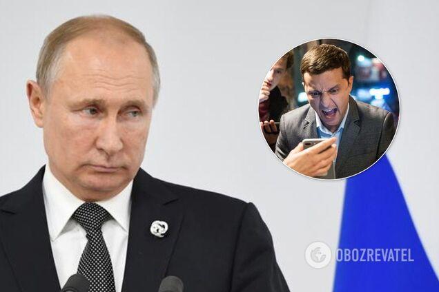 Володимир Зеленський зателефонував Володимиру Путіну