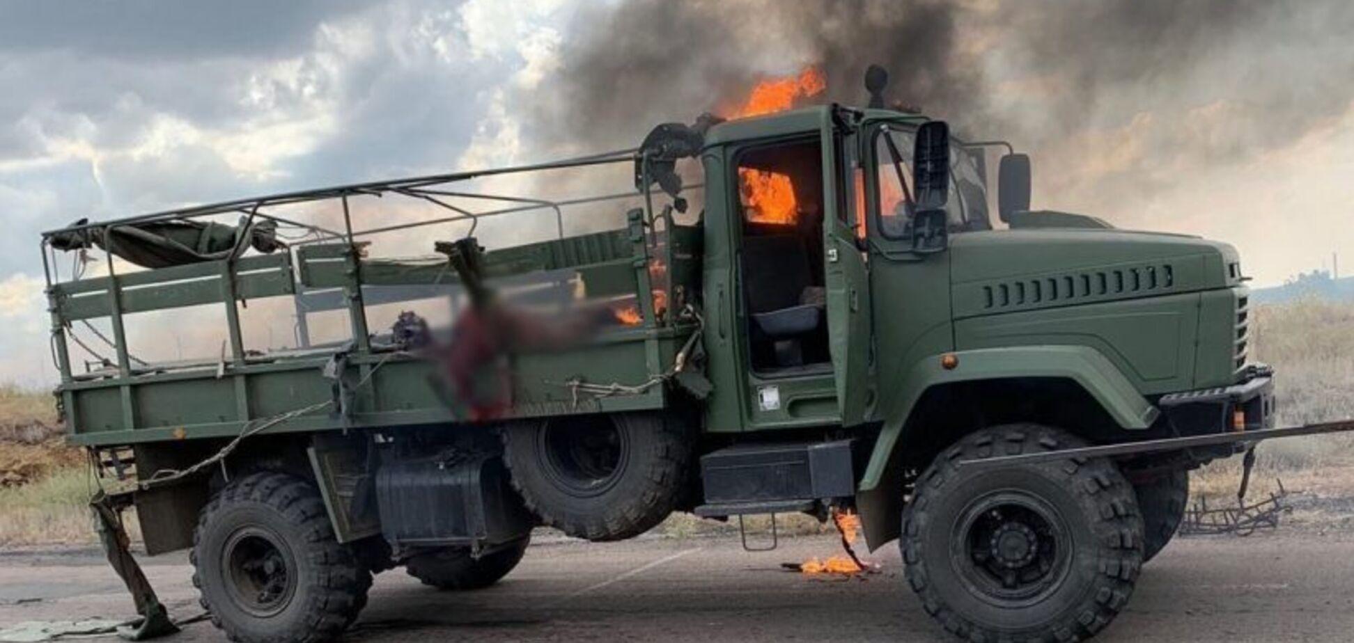 Трагедия с военной колонной на Донбассе: в ВМС назвали возможную цель террористов