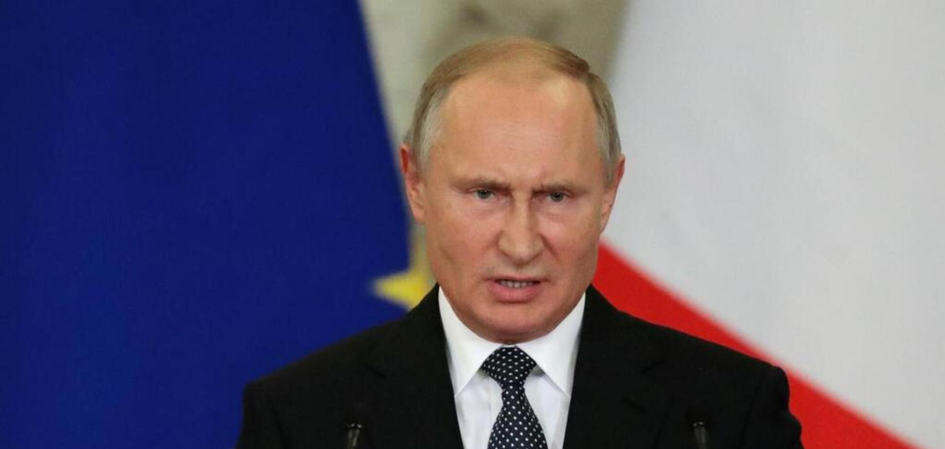 'Ты х*йло!' Украинский журналист унизил Путина на видео
