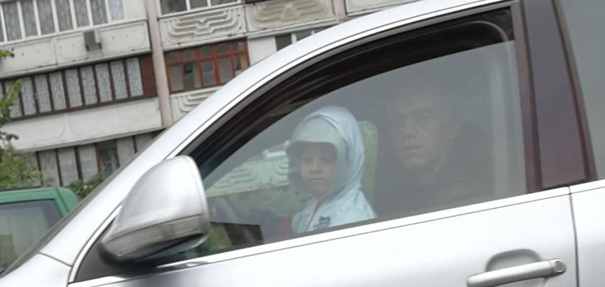 'У дебила есть иконка!' В Киеве разгорелся скандал из-за ребенка за рулем авто