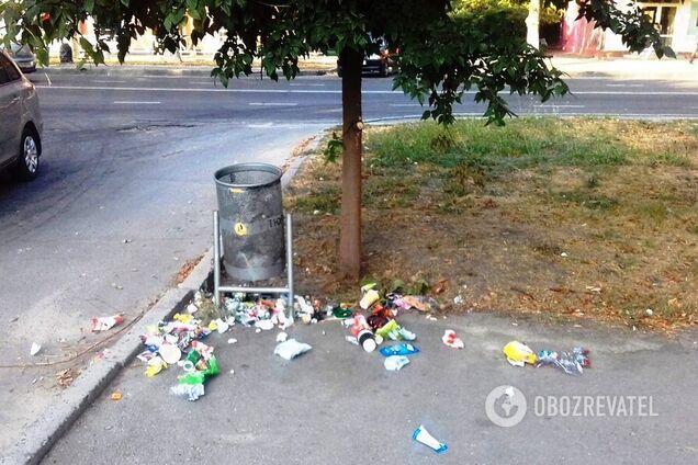 Штрафи за сміття