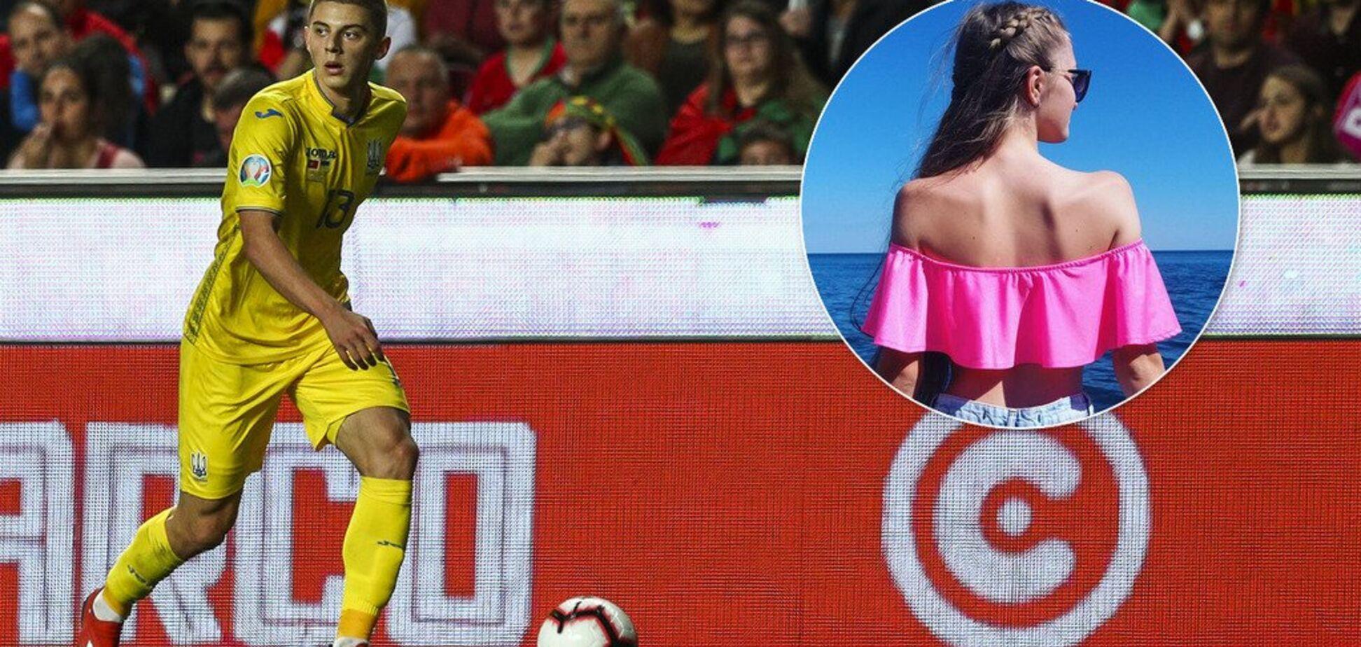 'А где силикон?' Девушка футболиста сборной Украины поразила нестандартной внешностью