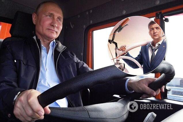 Зеленского уличили в подражании главе России