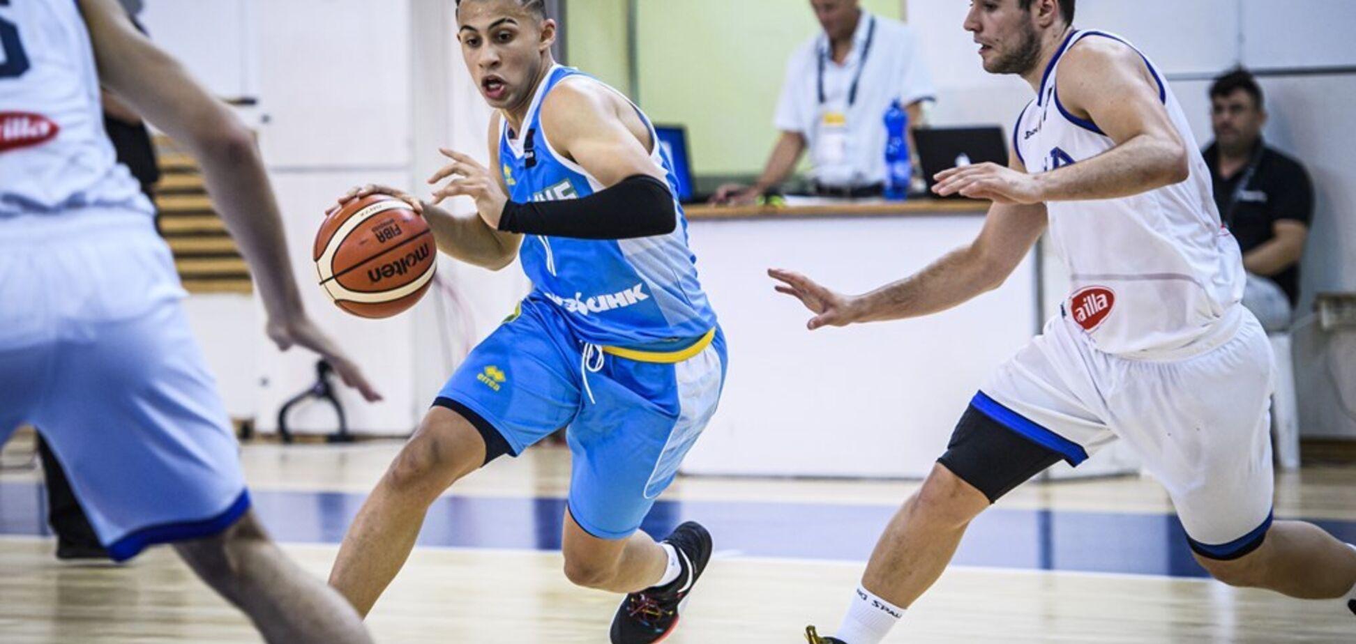 Українці з поразки стартували на Євробаскеті U-20