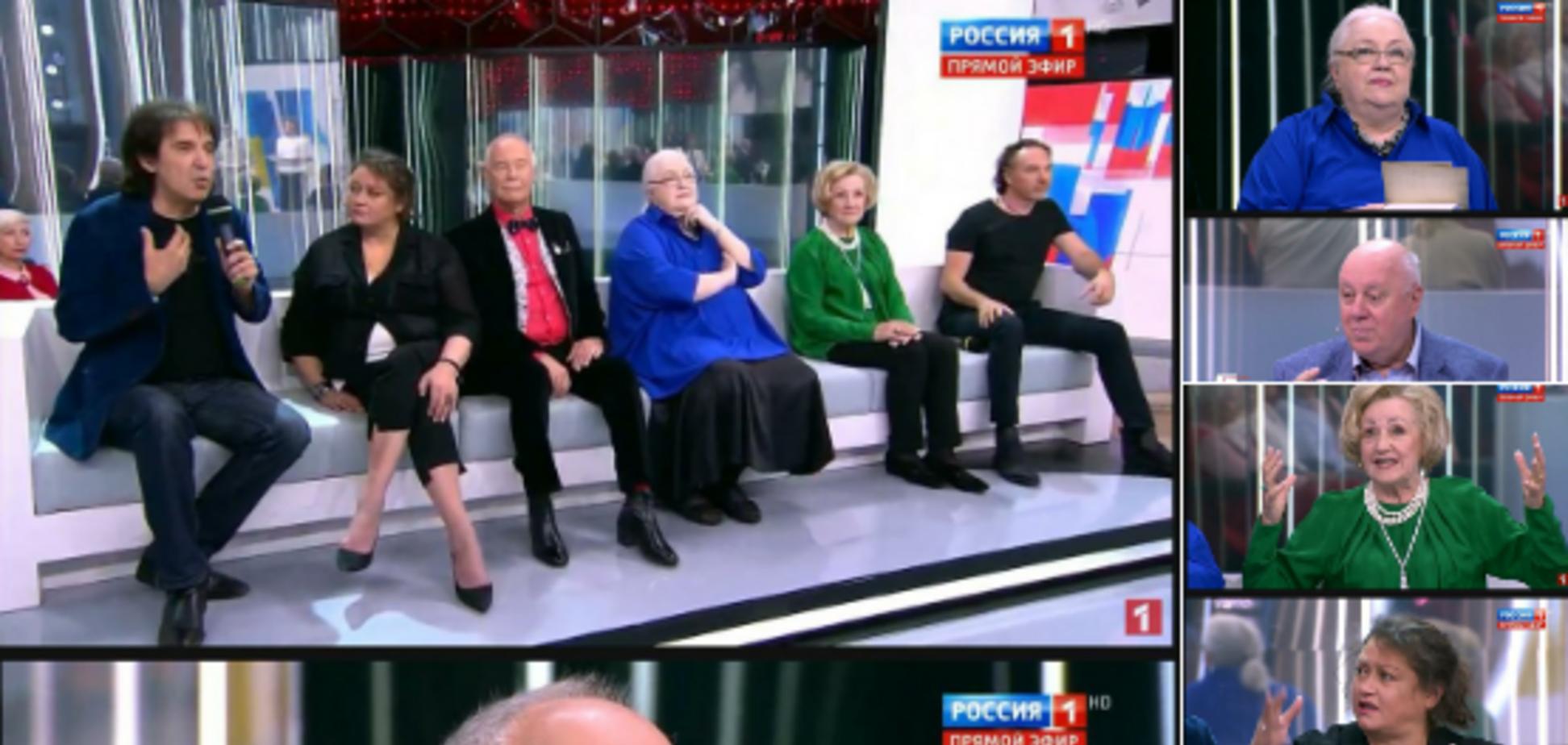 'Одні мумії!' Мережу розлютив скандальний телеміст між Москвою і Києвом