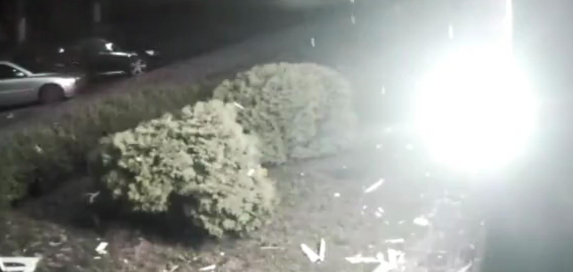 На відео потрапив момент обстрілу телеканалу '112 Україна'
