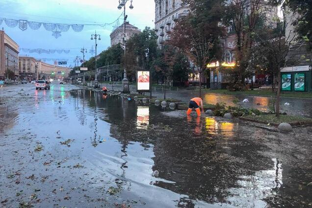 Буря в Киеве