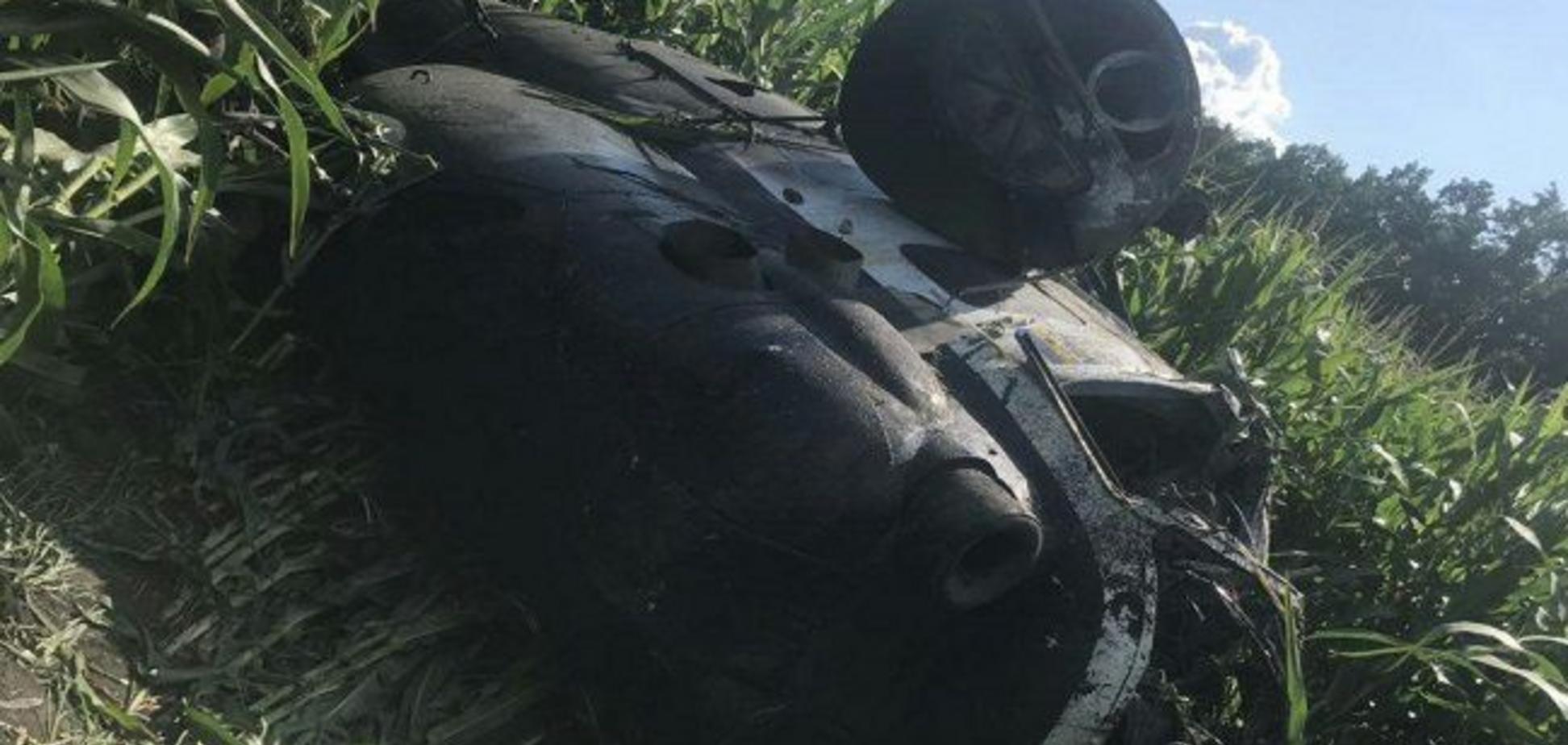 Под Сумами разбился вертолет, есть погибший: первое фото