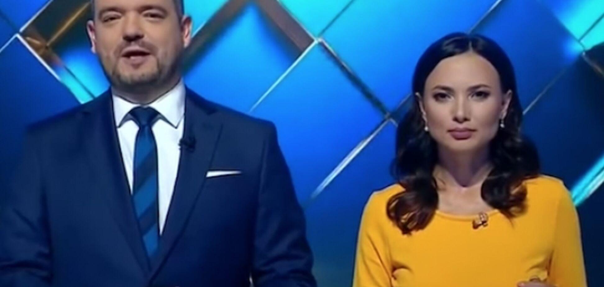 Ведущие NewsOne угодили в 'Миротворец' после скандального телемоста