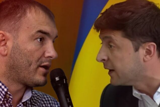 Ярослав Годунок і Володимир Зеленський