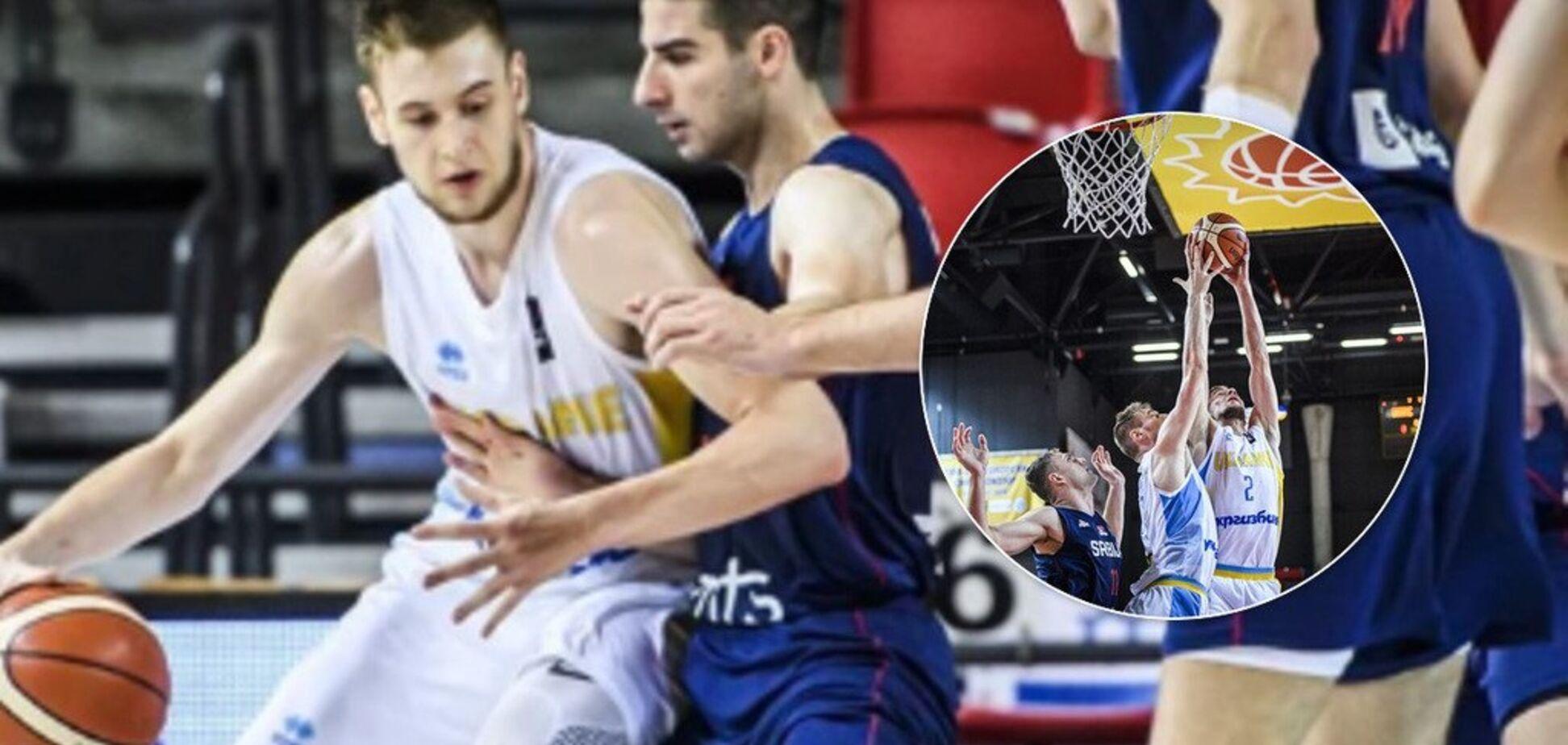 Україна здобула сенсаційну перемогу на Євробаскеті U-20