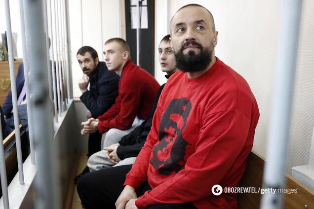 Пленные украинские моряки в России