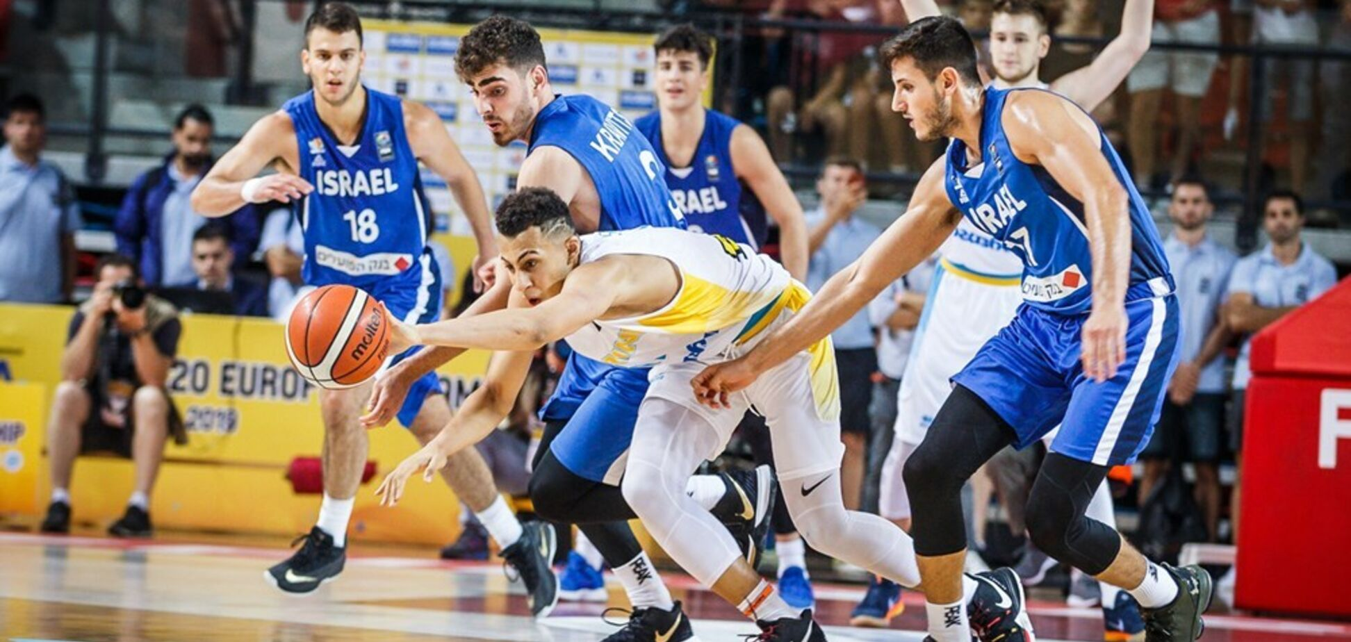 Українці вийшли до плей-офф Євробаскету U-20, видавши драму з господарями