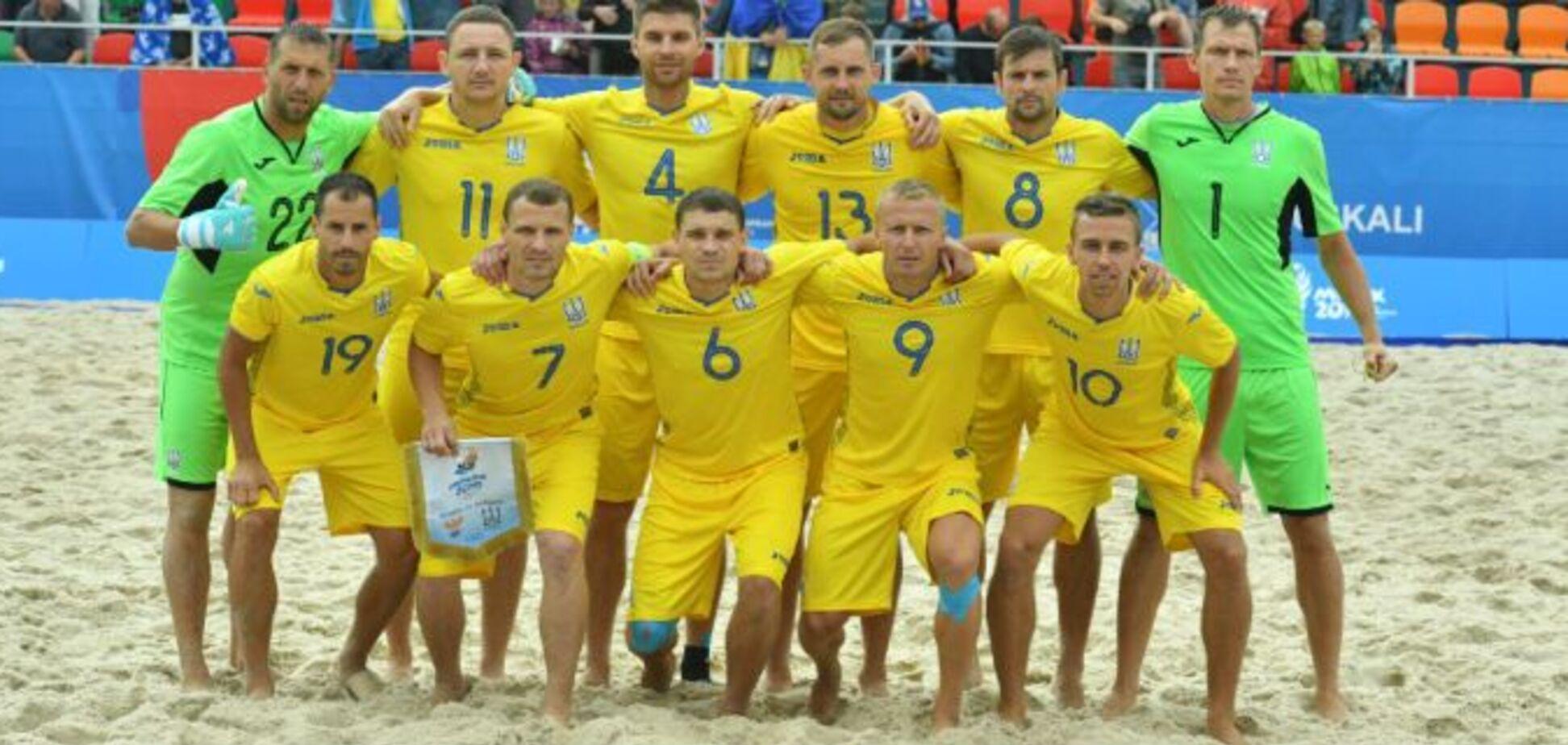 Україна оголосила бойкот Росії, і не зіграє на ЧС із пляжного футболу