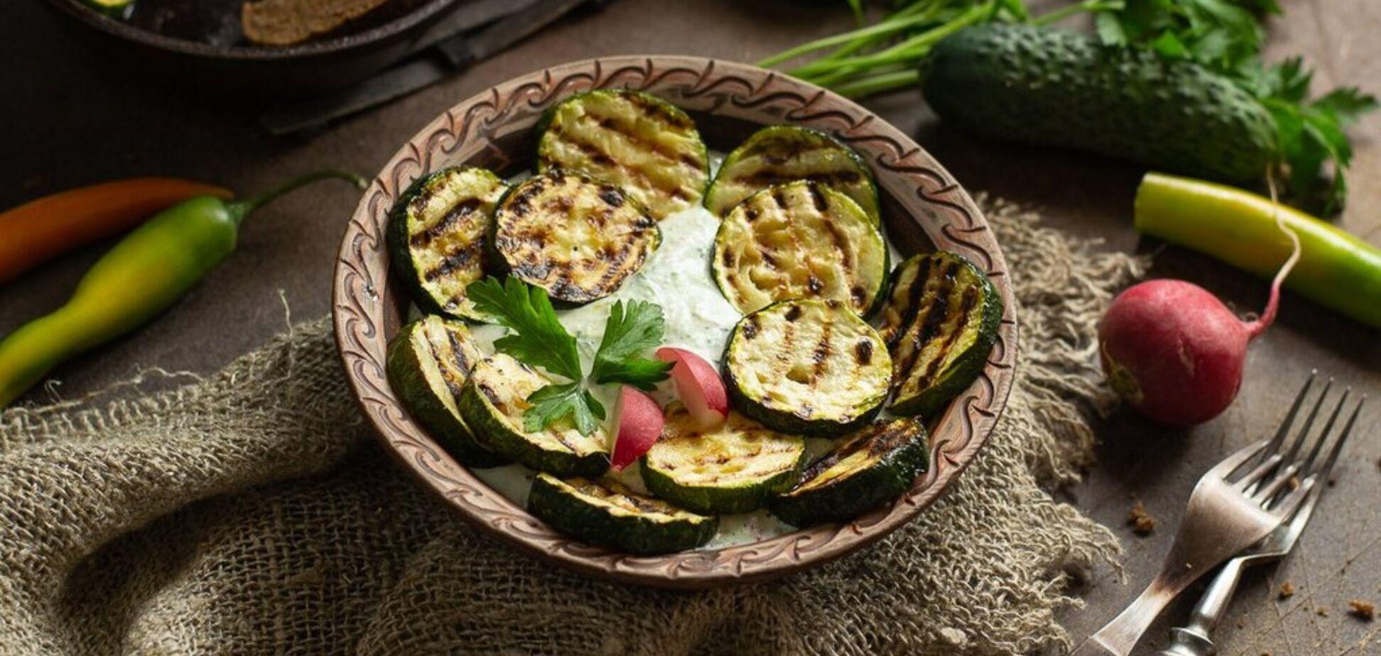 Рецепт маринаду, щоб кабачки на грилі вийшли особливо смачними