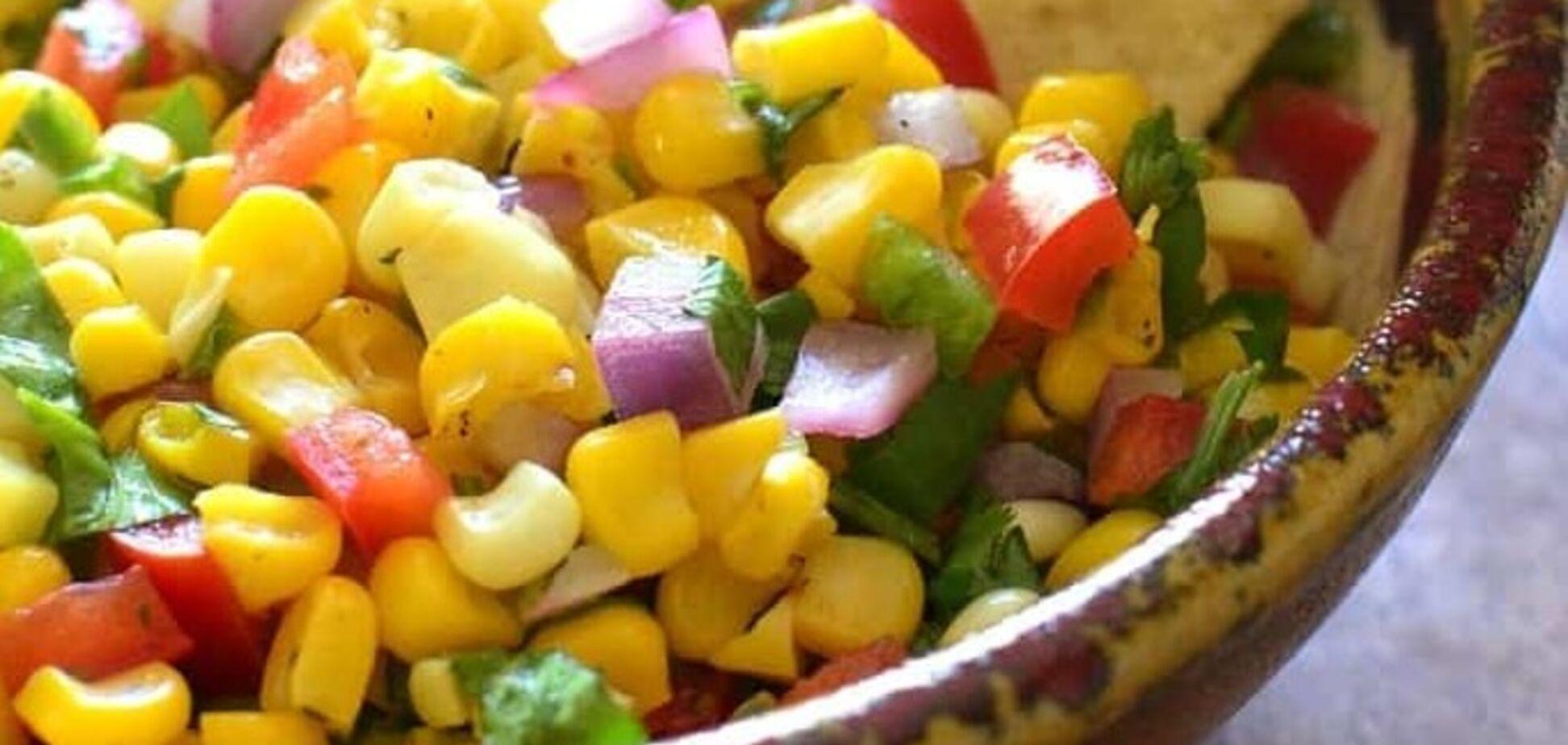 П'ять кращих салатів з кукурудзою