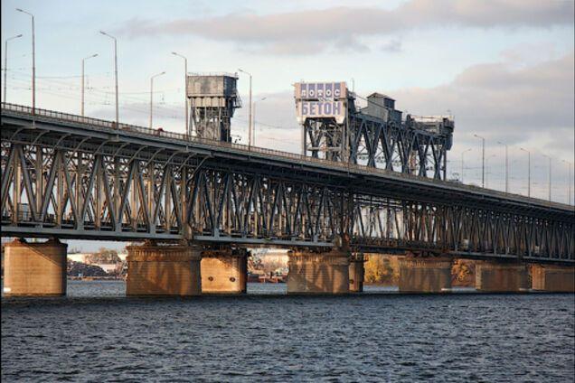 Амурский мост в Днепре