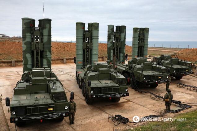 Российский зенитный ракетный комплекс С-400